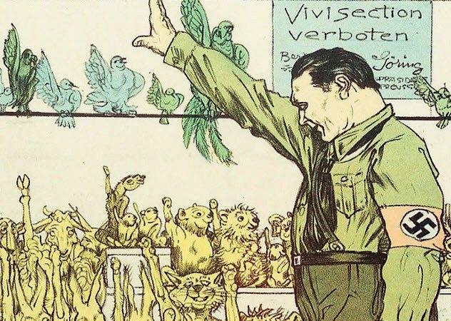 """El Tercer Reich fue el precursor y sentó las bases del animalismo actual: """"Das Tierschutzgesetzt""""(1933)"""